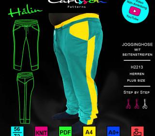 HALIN H2213 Jogginghose Herren Plus 56-72 Carlsson Patterns