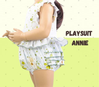 Playsuit Annie Gr. 56-104 Schnittmuster