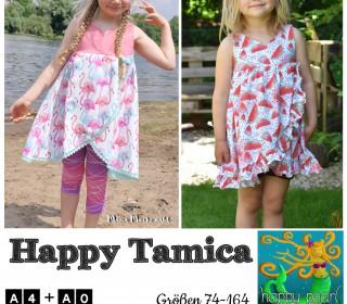 eBook HAPPY TAMICA Tunika Gr 74-164 von Happy Pearl