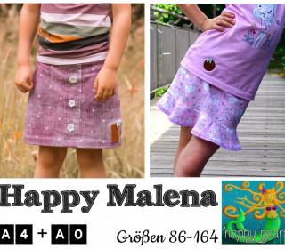 eBook HAPPY MALENA Rock Gr 86-164 von Happy Pearl