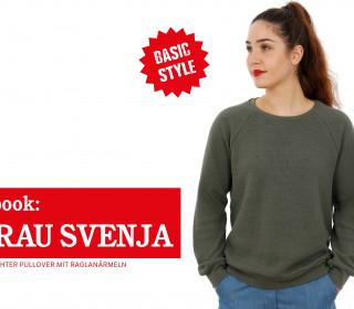 e-book FRAU SVENJA - Pullover mit Raglanärmeln, XS - XXL