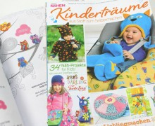 Dein Wunschgeschenk - Kinderträume  - Zeitschrift  Herbst/Winter inkl. Schnittmustern