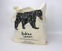 Dein Wunschgeschenk-Stoffbüddel -Geo Bear -A. Lauren