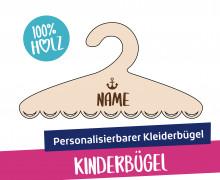 1 personalisierbarer Kleiderbügel - Kinderbügel