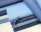 Jeans - Jeansstoff - Elastisch - Uni - Dunkelblau