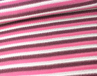Strickstoff -  Streifen - Strickoptik - Lila