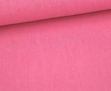 Viskose Leinen - Pink - Uni - Leinenstoff