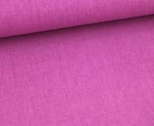 Viskose Leinen - Violett - Uni - Leinenstoff
