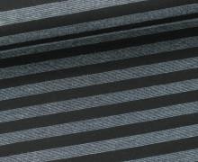 Romanit - kleine Streifen - Stripes - Blaugrau/Sch