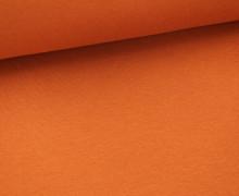 Glattes Bündchen - Schlauch - Rostbraun