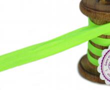 1m Faltgummi - Faltband - 15mm - Glanz - Neongrün