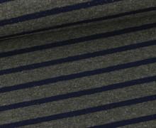 Sommersweat - Mittlere Streifen - Dunkelgrau/Schwarzblau