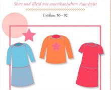 Schnittmuster - Little Ophelia - Gr. 50-92 - farbenmix