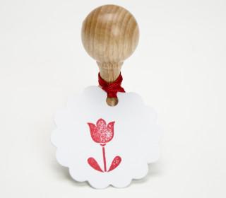 Stempel - Klein - Tulpe - Blume