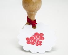 Stempel - Klein - Blumen -Holzstempel