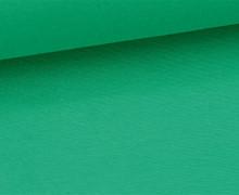 Glattes Bündchen - Uni - Schlauchware - Grün