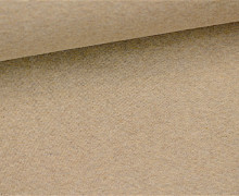 Glattes Bündchen - Uni - Schlauchware - Beige Meliert