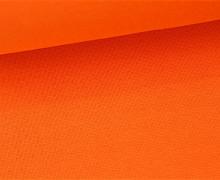 Glattes Bündchen - Uni - Schlauchware - Orange