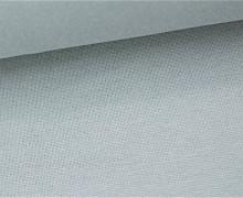 Glattes Bündchen - Uni - Schlauchware - Grau