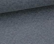 Glattes Bündchen - Uni - Schlauchware - Schwarzblau Meliert