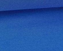 Glattes Bündchen - Uni - Schlauchware - Royalblau
