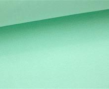 Glattes Bündchen - Uni - Schlauchware - Aqua