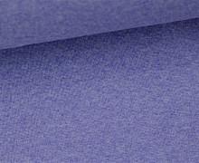 Glattes Bündchen - Uni - Schlauchware - Blaulila Meliert