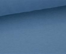 Glattes Bündchen - Uni - Schlauchware - Meerblau