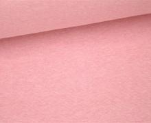 Glattes Bündchen - Uni - Schlauchware - Hellrosa Meliert