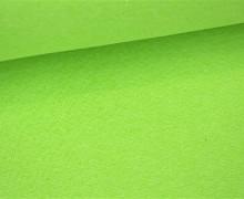 Glattes Bündchen - Uni - Schlauchware - Hellgrün Meliert