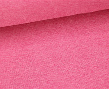 Glattes Bündchen - Uni - Schlauchware - Magenta Hell Meliert