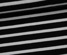 Sommersweat - Mittlere Streifen - Schwarz/Weiß