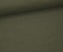 Jersey - Uni - ca. 150cm - Olivgrün