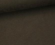 Jersey - Uni - ca. 150cm - Dunkelbraun