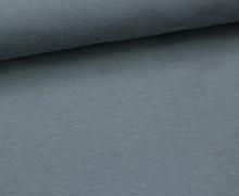 Jersey - Uni - ca. 150cm - Graublau
