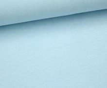 Jersey - Uni - ca. 150cm - Pastellblau