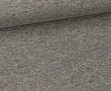 Sommersweat - Uni - 150cm - Grau Meliert