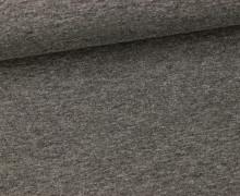Sommersweat - Uni - 150cm - Dunkelgrau meliert