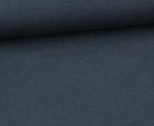 Jersey - Uni - ca. 150cm - Stahlblau