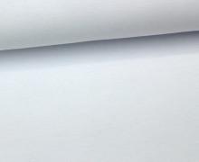 Jersey - Uni - ca. 150cm - Weiß