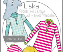 Schnittmuster - Liska - Poloshirt - Gr. 80-164 - Ki-Ba-Doo