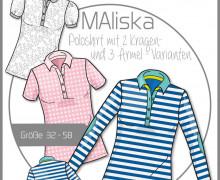 Schnittmuster - Maliska - Poloshirt - 32-58 - Ki-Ba-Doo