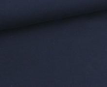 Sommersweat - Uni - 150cm - Schwarzblau