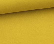 Sommersweat - Uni - 150cm - Senfgelb
