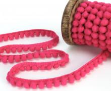 1 Meter Bommelborte - Bommeln - Pomponborte - Pink