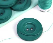 1 Knopf - 33mm - Rund - Stufen - Türkisgrün