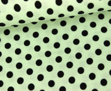 Viskose Jersey - Punkte - 7mm - Mint