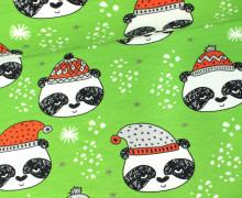 Sweat - Panda - Winterpanda - Bär - Grün - Andrea Lauren