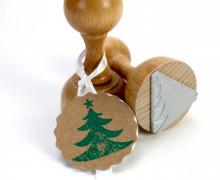 Stempel - Tannenbaum - Holzstempel