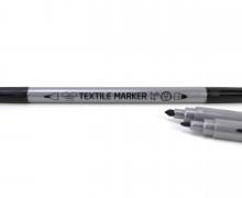 1 Stoffmalstift - Textilstift - Textilmarker - Schwarz
